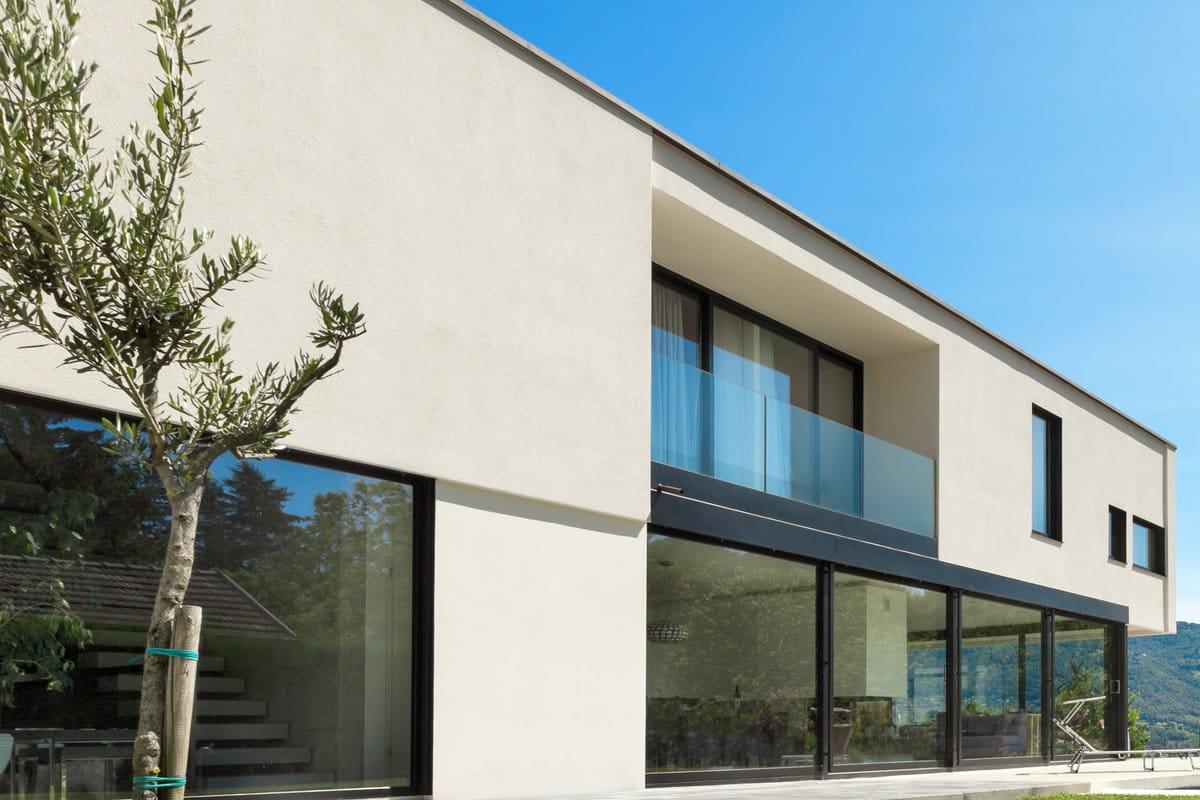Crepi gevel realisaties foto 39 s inspiratie - Moderne huis gevel ...